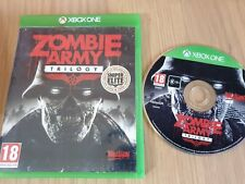 ZOMBIE ARMY TRILOGY MICROSOFT XBOX ONE GAME. COMPLETE. PAL UK VERSION