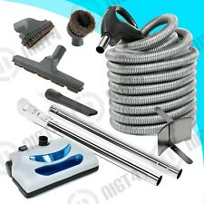 Hayden 35' feet Central Vacuum Pigtail Hose Power head Vac Electric Kit
