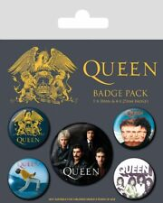 Queen pack 5 badges Classic badge pack 806716