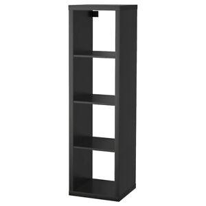 """Brand New IKEA KALLAX Black-Brown Shelf Shelving 16 1/2 x 57 7/8 """" 402.758.46"""