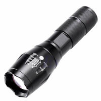HOT 5000LM 5Modes ZOOM XML T6 LED 18650 Outdoor  Tactical Flashlight Torch