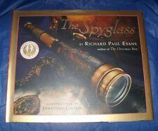 """THE SPYGLASS""  HARDBACK BOOK BY: RICHARD  EVANS  ""LIKE NEW CONDITION"""