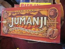 Jumanji board game 1995 COMPLETE Milton Bradley