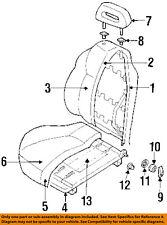 Honda Genuine 81110-TK8-A41ZB Seat Cushion Cover