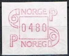 Noorwegen postfris automaatzegels 1986 MNH A3 (14)