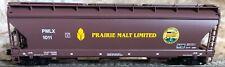Prairie Malt Limited  3-bay ACF centerflow hopper (N gauge)