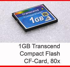 1gb 1 GB 80x TRANSCEND CF scheda CF-CARD COMPACT FLASH CARD scheda Industrial - 21
