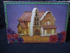 Mervyns California Mission San Diego de Alcala Lighted Ceramic Christmas Decor