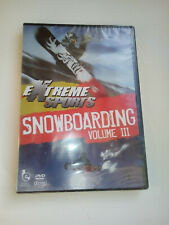 Extreme Sports Snowboarding Vol.3 (DVD, 2008) NEW SEALED PAL Free P&P