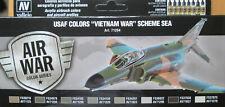 Vallejo Model Air VAL71204 USAF Vietnam Camouflage  8 colour paint set