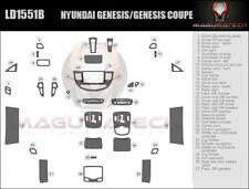 Fits Hyundai Genesis Sedan 2013-2014 Large Premium Wood Dash Trim Kit
