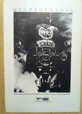 """The Who Quadrophenia LP & Bob Dylan 2 Sided Vintage Rock 70's Poster 15""""x10 R69"""