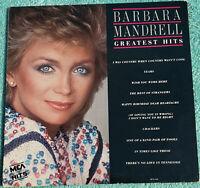 Barbara Mandrell Greatest Hits LP 1985 Original Vinyl Album - Crackers, Years