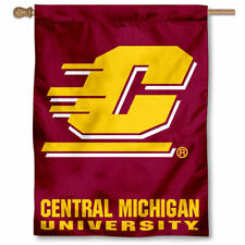 Central Michigan Chippewas CMU University College House Flag
