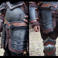 Metal Armour Rogue Tassets - Epic Dark Ideal for LARP or Costume