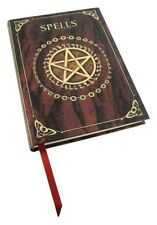 NEMESIS NOW RED EMBOSSED SPELL BOOK WITCH OCCULT NOTEBOOK JOURNAL DIARY NEW GIFT