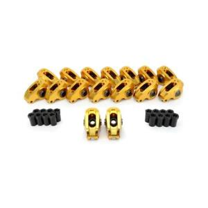 COMP Cams Rocker Arm Kit 19044-16; Ultra-Gold 1.6 Aluminum Roller for Ford SBF