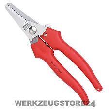 Knipex 95 05 190 mm Kombischere 9505190 Schere für Kabel, Pappe, Kunststoff etc.