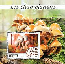 Guinea 2016 MNH Mushrooms 1v S/S Champignons Lepiota Fungi Stamps