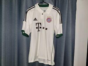BAYERN MUNICH Adidas 2013 2014 Football Shirt Soccer Jersey AWAY Oktoberfest M