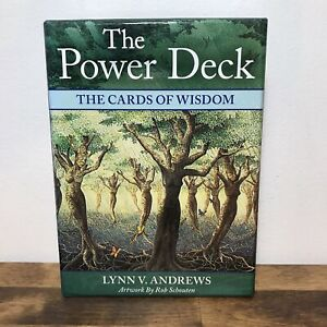 The Power Deck The Cards of Wisdom - Lynn V. Andrews 45 Cards 160 Page Guidebook