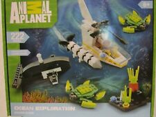 NEW ANIMAL PLANET OCEAN EXPLORATION BUILDING BLOCKS 222 PIECES AGES 6+ FREE SHIP