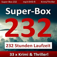 XXL MEGA HÖRBUCH-PAKET - 33 KRIMI/THRILLER HÖRBÜCHER WAHNSINNSPREIS! mp3-DVD