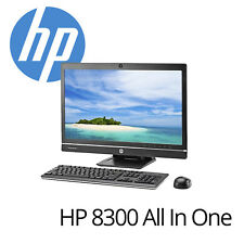 HP ELITE 8300 all-in-one PC i5-3470 3.2ghzghz CPU 4gb RAM 250gb hdd dvdrw AIO