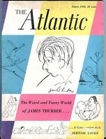 The Atlantic Magazine August 1956 James Thurber GD 043017nonjhe