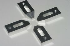 5/16 18 CLAMP SET FOR MACHINIST TOOL ROOM OR HOBBY. SET OF FOUR WITH NO HARDWARE