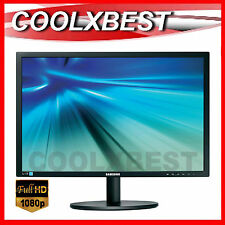 """SAMSUNG 22"""" LED FULL HD BUSINESS OFFICE MONITOR ADJUSTABLE STAND S22B420BW"""