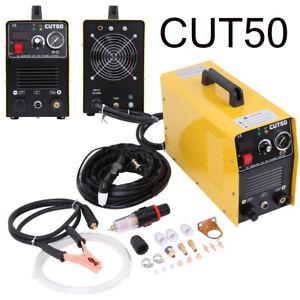 Air Plasma Cutter Machine 50A Inverter 220V Cutting Machine CUT50 1-12MM IE