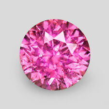 1.81CTS PRECISION 7MM ROUND DIAMOND CUT AAA PINK SAPPHIRE VIDEO IN DESCRIPTION