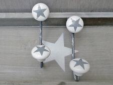 """crochet mural """" Stars """", Ensemble de deux VESTIAIRES crochet, étoile dans le"""