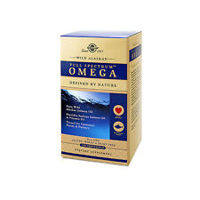 Solgar Wild Alaskan Full Spectrum Omega 120 Softgels FREE US SHIPPING