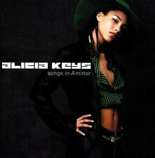 Alicia Keys 3 CD Lot Songs In a Minor, The Diary of Alicia Keys, As I Am
