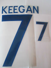 Keegan no 7 England Home Football Shirt Name Set Adult Sporting ID