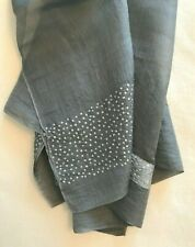 Dosa khadi silk shawl with holographic sequins