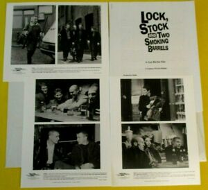 Lock, Stock and Two Smoking Barrels Press Kit Guy Ritchie Comedy 3 B&W Photos