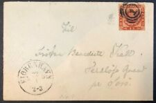 Denmark #9 on 1864 Cover Used