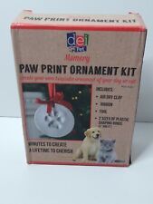 """Dei""~Pet Memory~Paw Print Ornament Kit~97620"