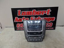 09 LEXUS IS 250  RADIO STEREO CD AM FM PLAYER CLIMATE CONTROL OEM