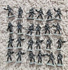 STAR WARS MICRO MACHINES IMPERIAL TIE PILOTS TROOPERS FIGHTERS LOT OF 24 RARE