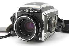 [Near MINT] Zenza Bronica S2 Late S2A model + Nikkor P 75mm f2.8 From Japan #447