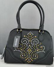 New Trend Limited GuEsS Handbag Ladies Seun Satchel Bag Black BNWT