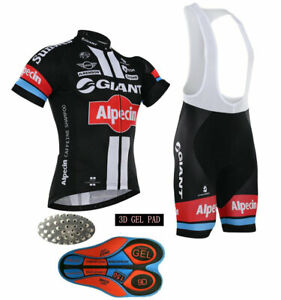 2021 Mens Team Cycling Short Sleeve Jersey Bib Shorts Sets
