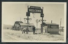 NV Oreana RPPC c.30 DAD LEE'S SHELL GAS STATION Route 40 I-80 W. of Winnemucca