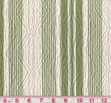 Roth & Tompkins Sundance Fern Woven Stripe Matelasse Upholstery Fabric BTY