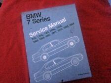 Bentley Paper Repair Manual Bmw 7 Series E32 for BMW Cars 1988-1994