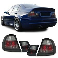 BMW E46 PREFACELIFT SALOON 1998-9/2001 SMOKED REAR TAIL BACK LIGHTS